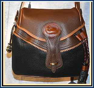 Blazing Teton Saddle Bag Vintage Dooney