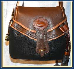 Blazing Teton Saddle Bag Vintage Dooney