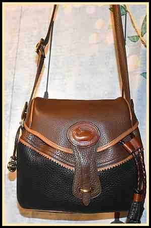 Teton Saddle Bag Vintage Dooney