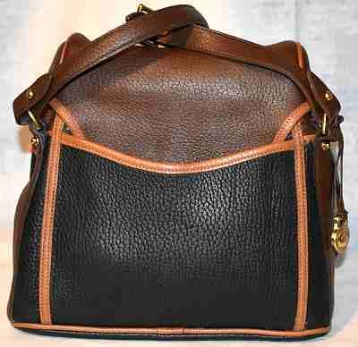Vintage Dooney Bourke Teton Saddle Bag