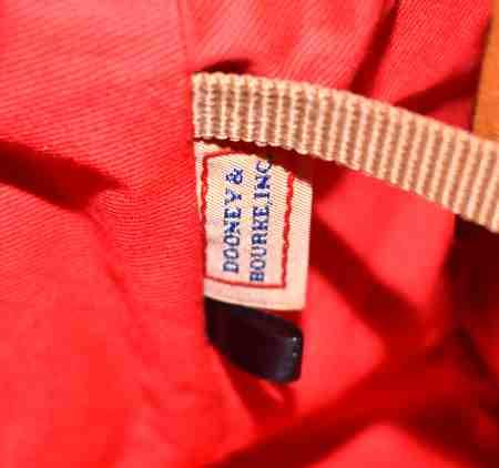 Dooney AWL Domed Satchel & Shoulder Bag