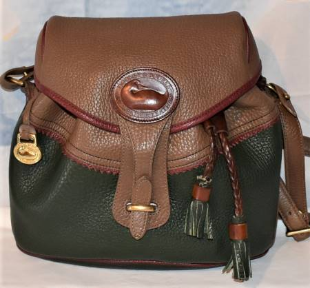 Olde West Style Dooney Saddle bag