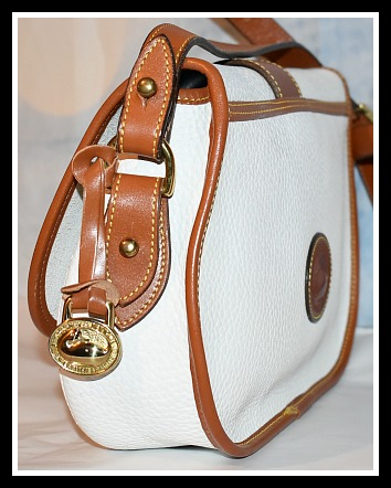 Dooney & Bourke All-Weather Leather  R148 Tack Bag