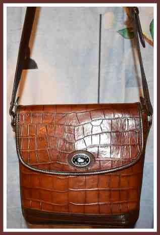 Southern Chocolate Souffle' Dooney Bayou Flap Bag