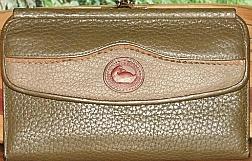 Herb Garden Basil Green Teton Checkbook Organizer Wallet & Coinpurse