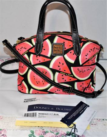 Watermelon Ruby Satchel Shoulder Bag