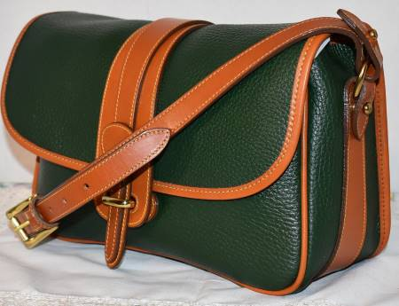 All Weather Leather Dooney and Bourke  Large Equestrian Over Under Tack Bag