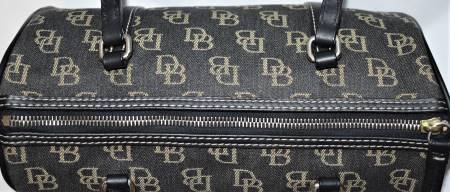Dooney and Bourke  Signature Collection  Signature Anniversary DB Fabric Barrel Bag
