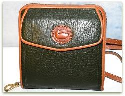 Emerald Isles Dooney & Bourke All-Weather Leather Zip-Along Wallet