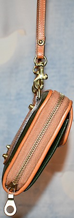 Dooney & Bourke All-Weather Leather  Small Zip-Along Wallet