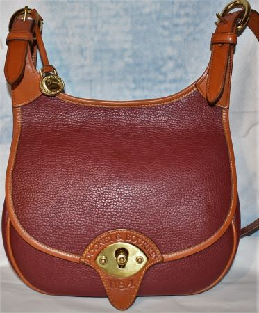 Spicy Hollyberry Dooney Cavalry Saddle Bag