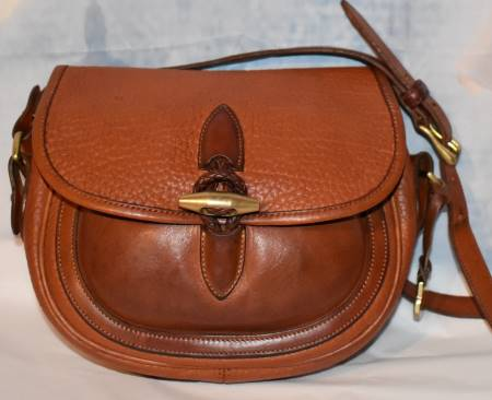 Old West Rich Coffee Dooney Outback Saddle Bag