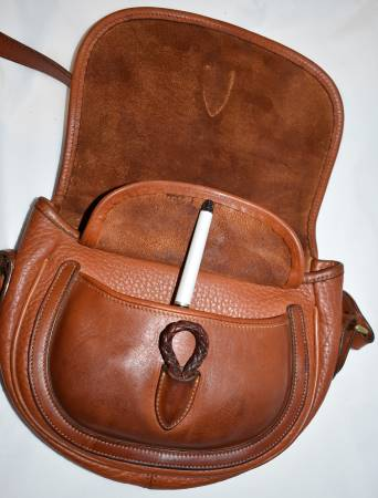 Dooney and Bourke All-Weather Leather  Outback Saddle Bag