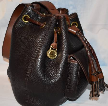 Dooney and Bourke All-Weather Leather  Vintage Sling Collection