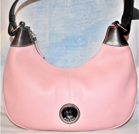 Pink Party Cupcake Dooney Hobo Shoulder Bag