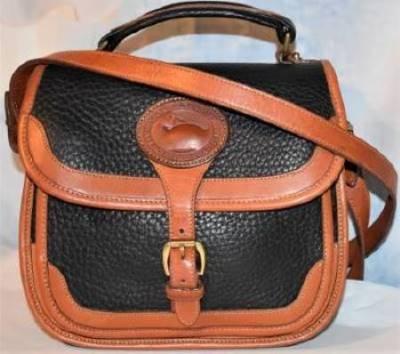 Rich Tuxedo Black Dooney Surrey Carrier Bag