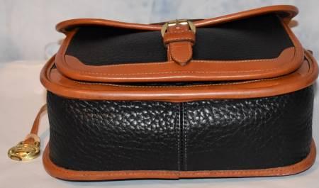 Dooney and Bourke All-Weather Leather  Surrey Carrier Bag  Shoulder Bag/Crossbody Bag