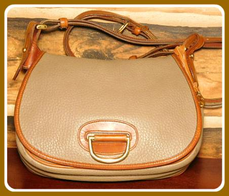 Round Up Time Vintage Dooney Large Horseshoe Bag