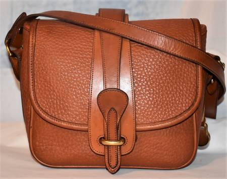 Maple Sugar Brown Dooney Equestrian Bag