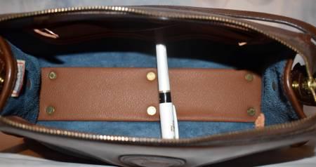 Dooney and Bourke All-Weather Leather   Timeless Design  Zipper Top Shoulder/Crossbody Bag/Clutch Purse