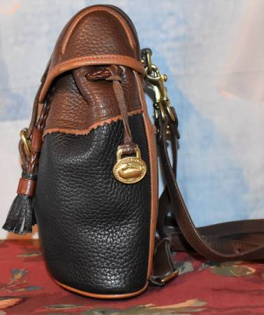 Vintage Dooney and Bourke  All-Weather Leather  Teton Mini Back Pack