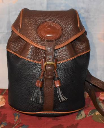 Dark Cafe au Lait Dooney Teton Backpack