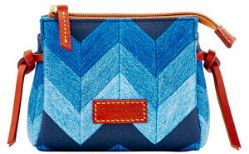DOONEY & BOURKE CHEVRON COSMETIC CASE