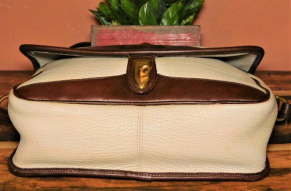 Crispy Toast & Coconut Oatmeal Vintage Dooney Carrier Shoulder Bag