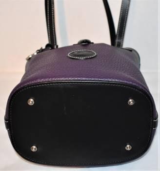 Deep Purple Dooney Bourke AWL Bucket Bag
