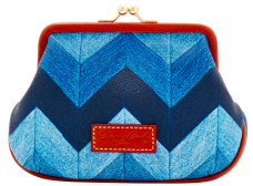 Dooney & Bourke Chevron Large Frame Purse
