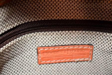 Dooney and Bourke  Croco Double Buckle Handbag