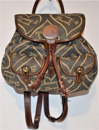 Decadent Cappuccino Mousse Dooney Backpack