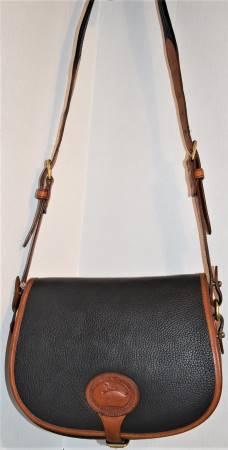 Dooney & Bourke  All-Weather Leather  R30 Saddle Bag