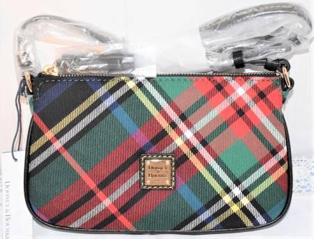 New! Scottish Tartan Dooney Lexi Crossbody