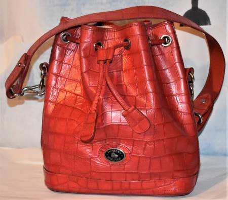 Yummy Watermelon Red Dooney Drawstring Shoulder Bag