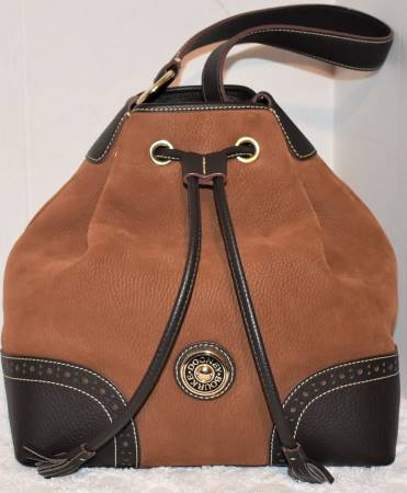 Sugar Cinnamon Roll Dooney Drawstring Bag