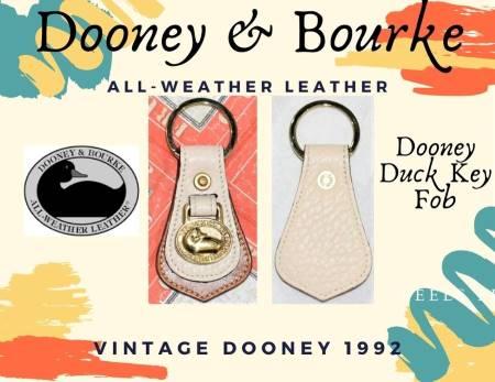 Coconut Butterscotch Dooney Duck Fob