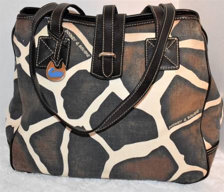 African Safari Dooney Shopper Bag