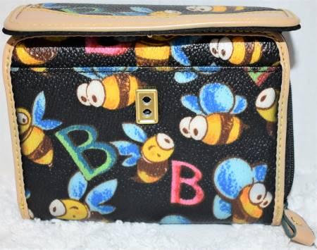 Dooney and Bourke Bumble Bee Wallet