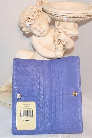Dooney Bourke AWL Lavender Wallet New