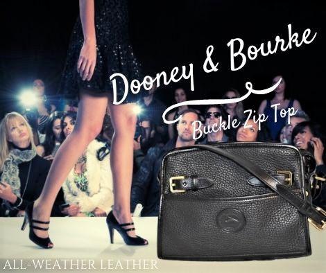 Regal Black Dooney Buckle Shoulder Bag