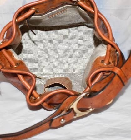 Dooney Bourke Drawstring Bucket Bag