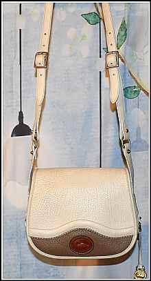 Dooney Teton Saddle Bag