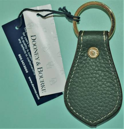 Dooney  and  Bourke All-Weather Leather  Ivy Duck Key Fob