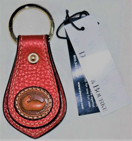 Dooney and Bourke AWL  KF2 Duck Key Fob  Brand New with Tags