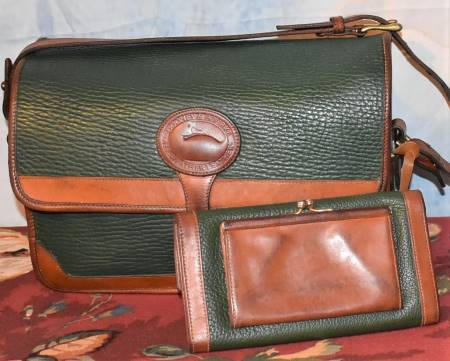 Dooney and Bourke  All-Weather Leather  Large Surrey Bag