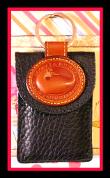 Black Licorice Bliss Dooney Duck Credit Card Holder Keyring