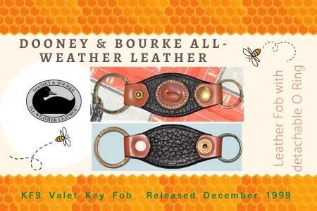 Honey Licorice Dooney Valet Key Fob