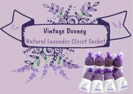 Earthy Lavender Flower Buds Sachet