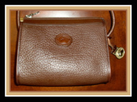 SOLD! Olive Brown Small Zipper Top Dooney & Bourke AWL Bag